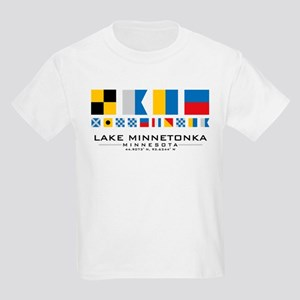 Lake Minnetonka, Minnesota Nautical T-Shirt