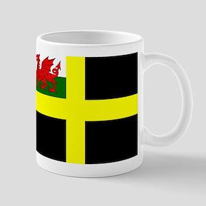 Flag of Saint David Mugs