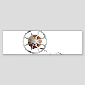 Movie Reel Bumper Sticker