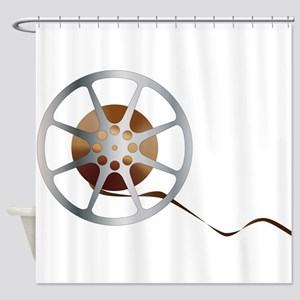 Movie Reel Shower Curtain
