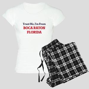 Trust Me, I'm from Boca Rat Women's Light Pajamas