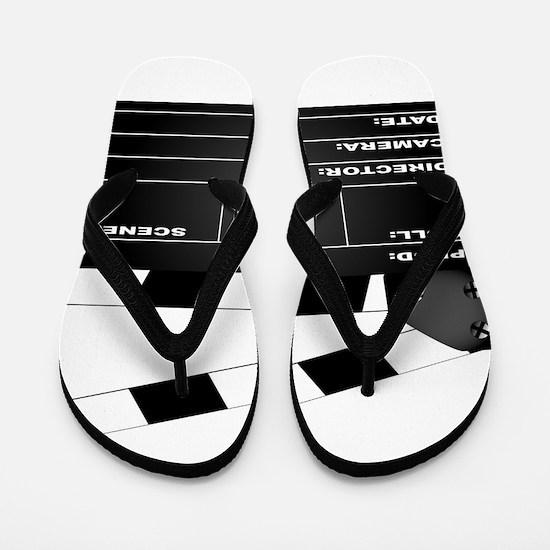 Clapperboard Flip Flops