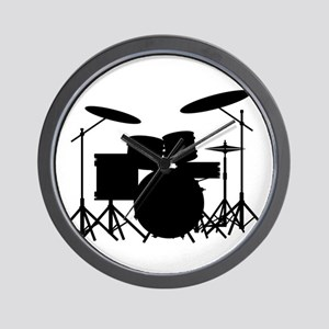 Drum Kit Wall Clock