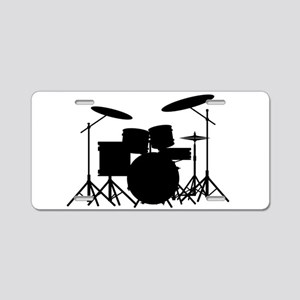 Drum Kit Aluminum License Plate