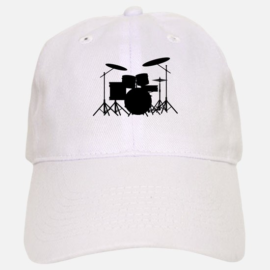 Drum Kit Baseball Baseball Cap