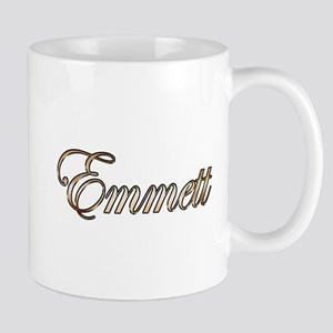 Gold Emmett Mugs