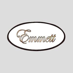 Gold Emmett Patch