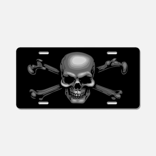 Funny Motorcycles Aluminum License Plate
