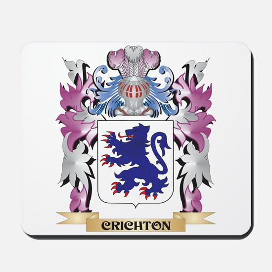 Crichton Coat of Arms (Family Crest) Mousepad