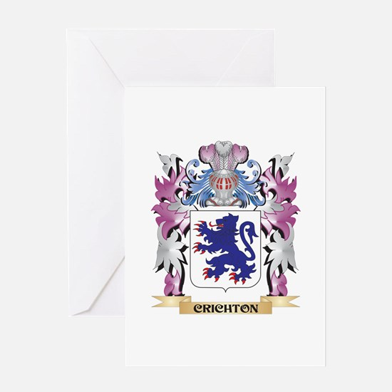 Crichton Coat of Arms (Family Crest Greeting Cards