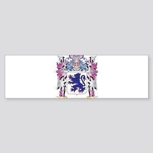 Crichton Coat of Arms (Family Crest Bumper Sticker