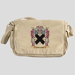 Cristian Coat of Arms (Family Crest) Messenger Bag