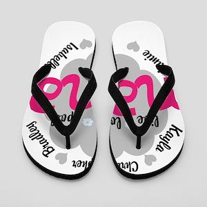 Personalize Nana, MiMi Mamaw Flip Flops