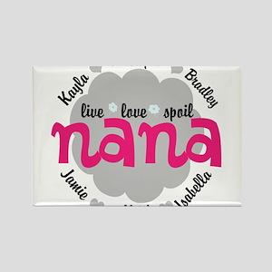 Personalize Nana, MiMi Mamaw Magnets
