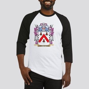 Cristofano Coat of Arms (Family Cr Baseball Jersey
