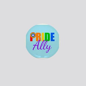 Gay Pride Ally Mini Button