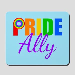 Gay Pride Ally Mousepad