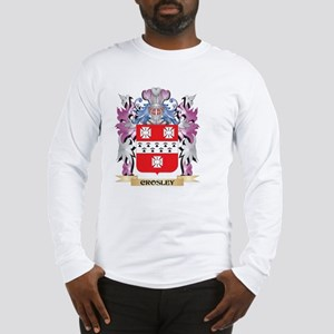 Crosley Coat of Arms (Family C Long Sleeve T-Shirt
