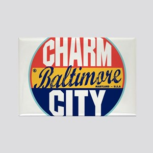 Baltimore Vintage Label Magnets