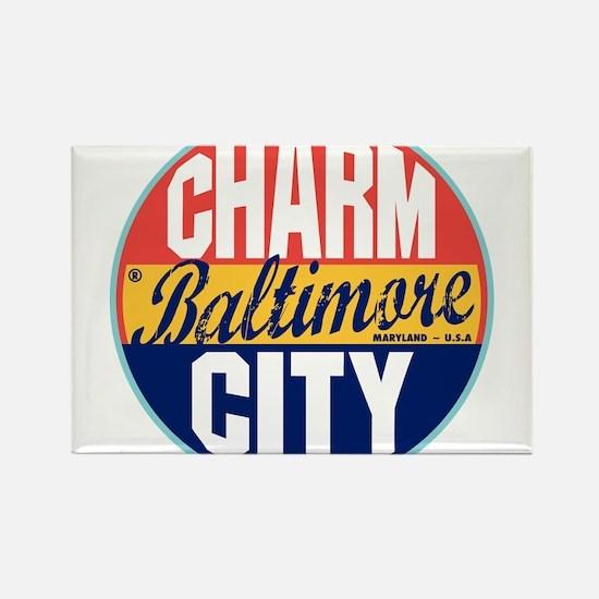 Baltimore Vintage Label Magnets