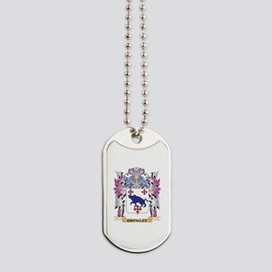 Crowley Coat of Arms (Family Crest) Dog Tags