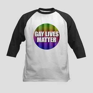Gay Lives Matter Baseball Jersey