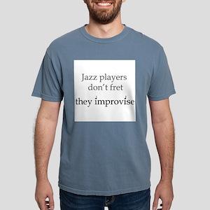 Jazz Player Don't Fret Ash Grey T-Shirt