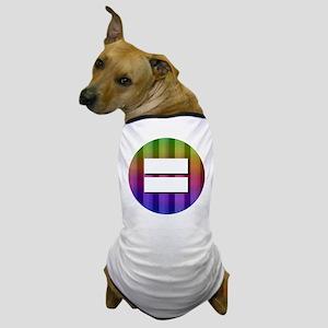 Equality Rainbow Dog T-Shirt