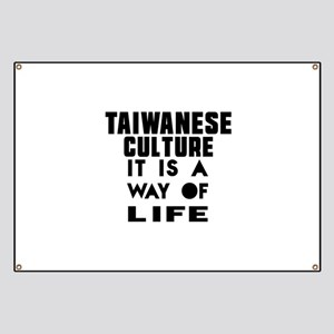 Taiwanese Culture It Is A Way Of Life Banner