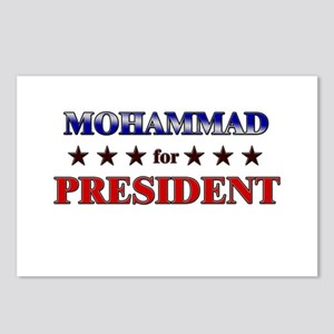 MOHAMMAD for president Postcards (Package of 8)