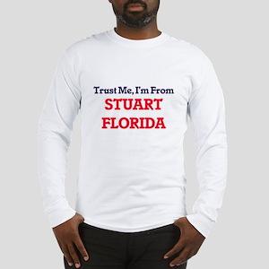 Trust Me, I'm from Stuart Flor Long Sleeve T-Shirt