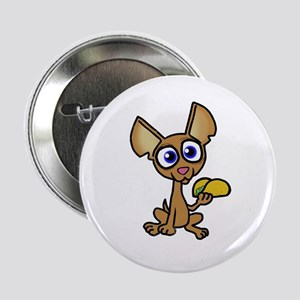 """Chihuahua with taco 2.25"""" Button"""