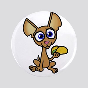 Chihuahua with taco Button