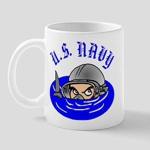 U.S. Navy Scuba Mug