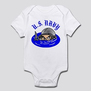 U.S. Navy Scuba Infant Bodysuit