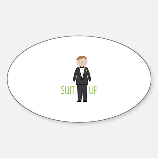 Suit Up Decal