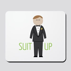 Suit Up Mousepad
