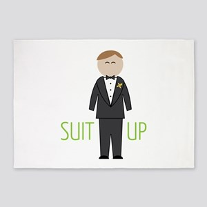 Suit Up 5'x7'Area Rug