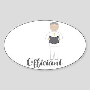 Officiant Sticker