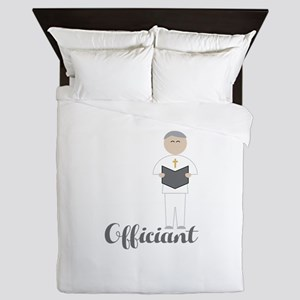 Officiant Queen Duvet