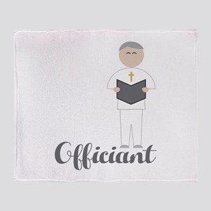 Officiant Throw Blanket
