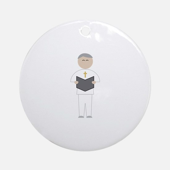 Officiant Round Ornament