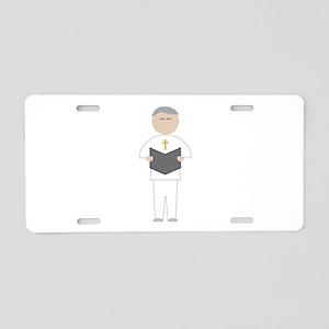 Officiant Aluminum License Plate