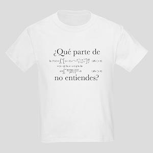 ¿Qué parte de...? T-Shirt