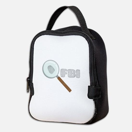 FBI Neoprene Lunch Bag