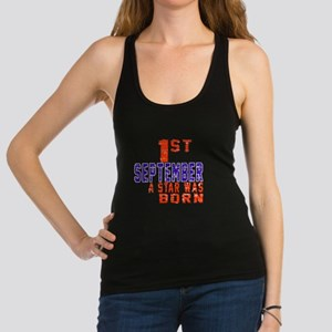1 September A Star Was Born Racerback Tank Top