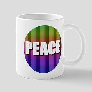 PEACE RAINBOW Mugs