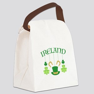 Ireland Mobile Canvas Lunch Bag