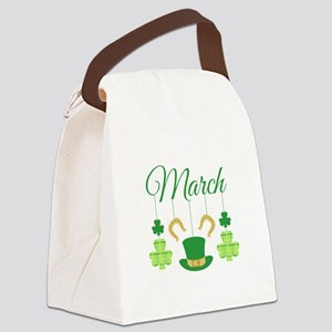March Mobile Canvas Lunch Bag