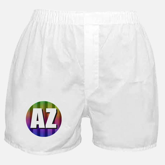 AZ Arizona Rainbow Boxer Shorts